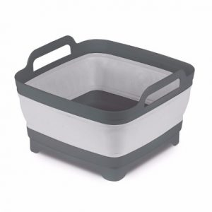 The Kampa Collapsible Washing Bowl with Straining Plug is Sold by Devon Outdoor and The Camping and Kite Centre.