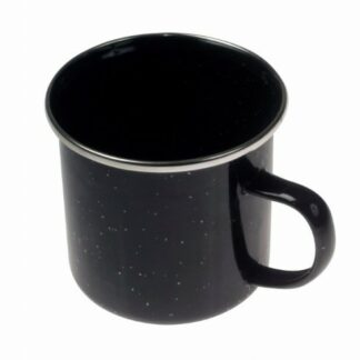 The Kampa Enamel Mug is Sold by Devon Outdoor and The Camping and Kite Centre.