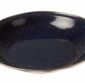 The Kampa Enamel Bowl is Sold by Devon Outdoor and The Camping and Kite Centre.
