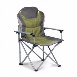 The Kampa Guv'nor Folding Armchair is Sold by Devon Outdoor and The Camping and Kite Centre.