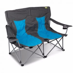 The Kampa Lofa Chair is Sold by Devon Outdoor and The Camping and Kite Centre.