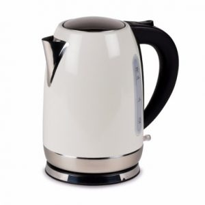 The Kampa Storm Low Wattage Electric Kettle 1.7L is Sold by Devon Outdoor and The Camping and Kite Centre.