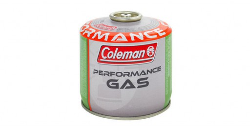 The Coleman C300 Performance Gas is Sold by Devon Outdoor and The Camping and Kite Centre.