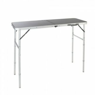The Vango Granite Duo 120 High Table is Sold by Devon Outdoor and The Camping and Kite Centre.