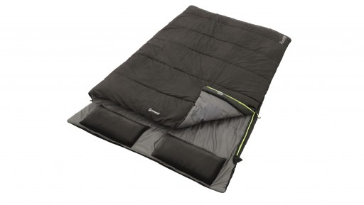 The Outwell Roadtrip Double Sleeping Bag is Sold by Devon Outdoor and The Camping and Kite Centre.