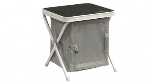 The Outwell Cayon Small Camping Wardrobe is Sold by Devon Outdoor and The Camping and Kite Centre.