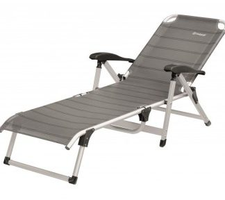 The Outwell Devon Lounger is Sold by Devon Outdoor and The Camping and Kite Centre.