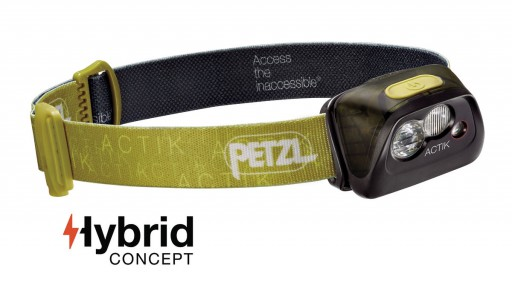 The Petzl Actik Headlamp is Sold by Devon Outdoor and The Camping and Kite Centre.