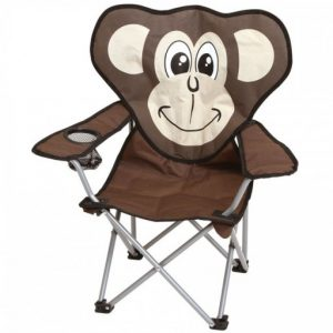 The Quest Childrens Monkey Folding Chair is Sold by Devon Outdoor and The Camping and Kite Centre.
