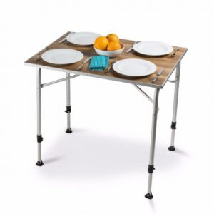 The Kampa Zero Lightweight Table is Sold by Devon Outdoor and The Camping and Kite Centre.