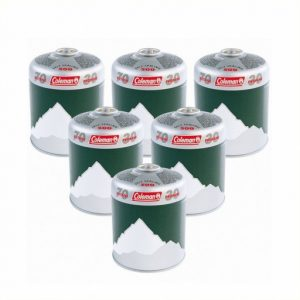 The Coleman C500 Gas Cartridge - Pack of 6 is Sold by Devon Outdoor and The Camping and Kite Centre.