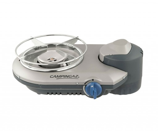 The Campingaz Bistro 300 Stove is Sold by Devon Outdoor and The Camping and Kite Centre.