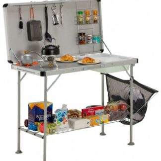 The Vango Cuisine Kitchen is Sold by Devon Outdoor and The Camping and Kite Centre.