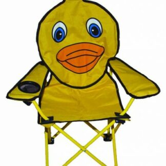 The Quest Childrens Duck Folding Chair is Sold by Devon Outdoor and The Camping and Kite Centre.