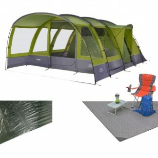 The Vango Langley 600XL Tent Package is Sold by Devon Outdoor and The Camping and Kite Centre.