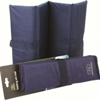 The Highlander Folding Sit Mat is Sold by Devon Outdoor and The Camping and Kite Centre.