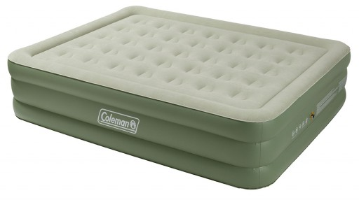 The Coleman Maxi Comfort Raised King Airbed is Sold by Devon Outdoor and The Camping and Kite Centre.