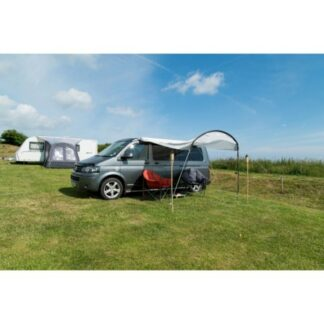 The Vango Sun Canopy for Caravans and Motorhomes is Sold by Devon Outdoor and The Camping and Kite Centre.