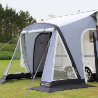 The Sunncamp Swift Air 260 is Sold by Devon Outdoor and The Camping and Kite Centre.