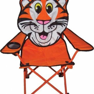 The Quest Childrens Tiger Folding Chair is Sold by Devon Outdoor and The Camping and Kite Centre.