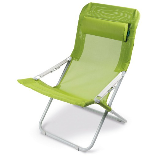 The Kampa Sling Reclining Chair is Sold by Devon Outdoor and The Camping and Kite Centre.