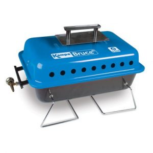 The Kampa Bruce Portable Gas Barbecue is Sold by Devon Outdoor and The Camping and Kite Centre.