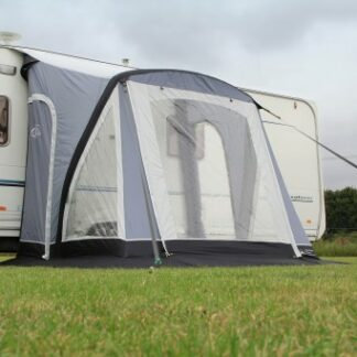 The Sunncamp Swift Air 220 Caravan Awning is Sold by Devon Outdoor and The Camping and Kite Centre.