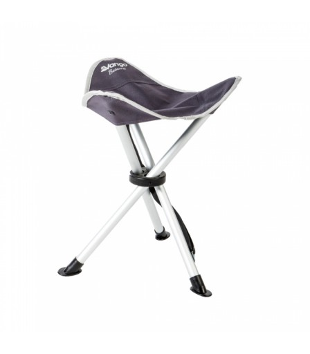 The Vango Balmoral Aluminium Stool is Sold by Devon Outdoor and The Camping and Kite Centre.