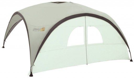 The Coleman Event Shelter Pro L Sunwall Door is Sold by Devon Outdoor and The Camping and Kite Centre.