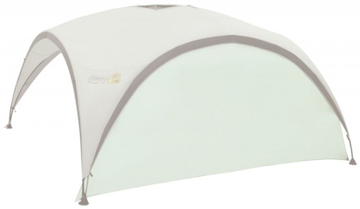 The Coleman Event Shelter Pro L Sunwall is Sold by Devon Outdoor and The Camping and Kite Centre.