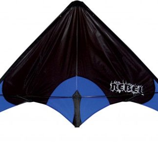 The Spirit of Air Rebel Kite is Sold by Devon Outdoor and The Camping and Kite Centre.