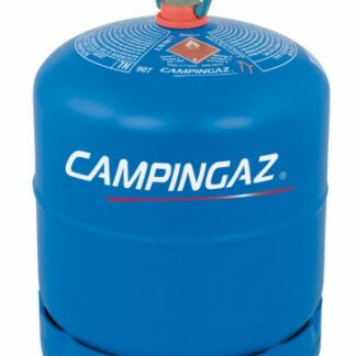 The Empty Campingaz 907 Cylinder is Sold by Devon Outdoor and The Camping and Kite Centre.
