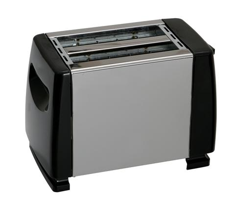 The Quest Low Wattage 2 Slice Stainless Steel Toaster is sold by Devon Outdoor and The Camping and Kite Centre