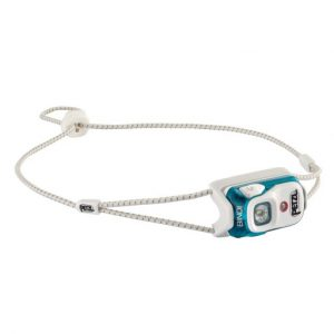 The Petzl Bindi Headtorch is Sold by Devon Outdoor and The Camping and Kite Centre.