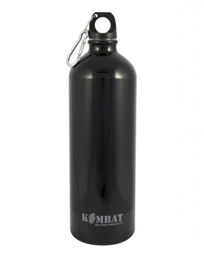 The KombatUK Aluminium Water Bottle is Sold by Devon Outdoor and The Camping and Kite Centre.