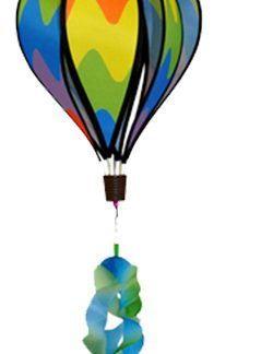 The Spirit of Air Small Hot Air Balloon is Sold by Devon Outdoor and The Camping and Kite Centre.