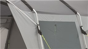 The Outwell Scenic Road 250 Poled Driveaway Awning is Sold by Devon Outdoor and The Camping and Kite Centre.