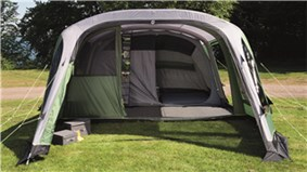 The Outwell Woodburg 6A is Sold by Devon Outdoor and The Camping and Kite Centre.