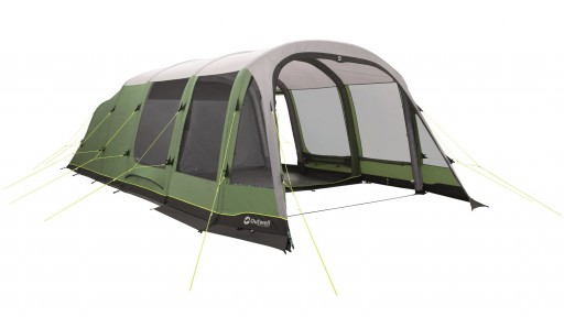 The Outwell Woodburg 7A Tent is Sold by Devon Outdoor and The Camping and Kite Centre.