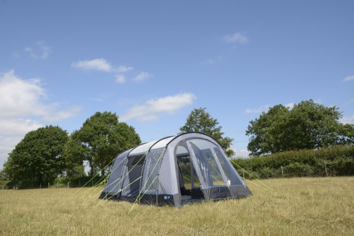 The Kampa Texel 4 Tent Package is Sold by Devon Outdoor and The Camping and Kite Centre.