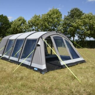 The Kampa Croyde 6 Classic Air Pro Tent is Sold by Devon Outdoor and The Camping and Kite Centre.