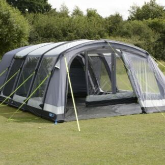 The Kampa Croyde 6 Air Pro Tent is Sold by Devon Outdoor and The Camping and Kite Centre.