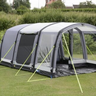 The Kampa Hayling 4 Air Pro Tent is Sold by Devon Outdoor and The Camping and Kite Centre.