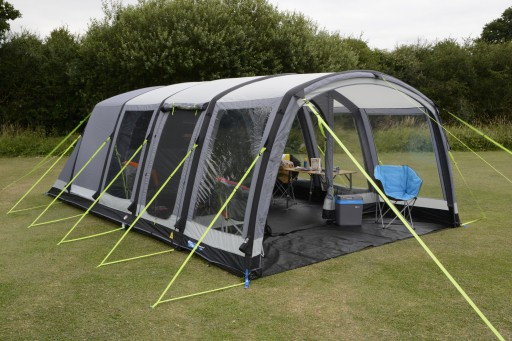The Kampa Hayling 6 Air Pro Tent is Sold by Devon Outdoor and The Camping and Kite Centre.