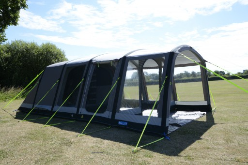 The Kampa Hayling 6 Classic Air Pro Tent is Sold by Devon Outdoor and The Camping and Kite Centre.