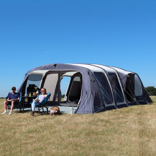 The Outdoor Revolution Airedale 8 Tent is Sold by Devon Outdoor and The Camping and Kite Centre.