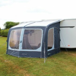 The Outdoor Revolution Eclipse 325 Pro Caravan Awning is Sold by Devon Outdoor and The Camping and Kite Centre.