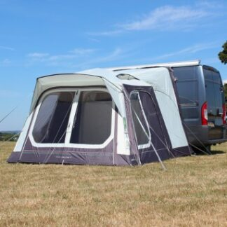 The Outdoor Revolution Movelite T1 Low-Midline Driveaway Awning is Sold by Devon Outdoor and The Camping and Kite Centre.