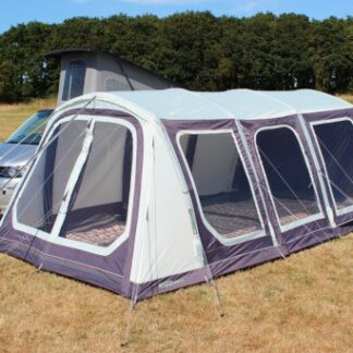 The Outdoor Revolution Movelite T5 Kombi Driveaway Awning is Sold by Devon Outdoor and The Camping and Kite Centre.