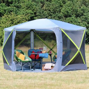 The Outdoor Revolution Screenhouse 6 is Sold by Devon Outdoor and The Camping and Kite Centre.